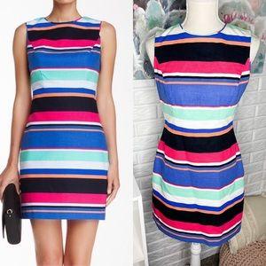 Kate Spade Mariam Tropical Stripe Sheath Dress